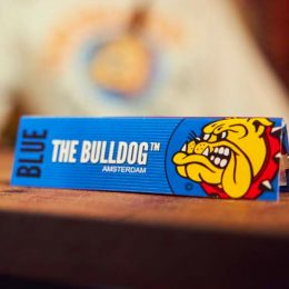 THE BULLDOG BLUE King Size Slim Χαρτάκια 3