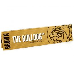 The Bulldog Χαρτάκια Ακατέργαστο King Size Slim