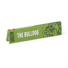 THE BULLDOG Green King Size Slim Χαρτάκια